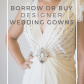 Vera wang wedding dress rental  Rent or buy designer wedding gowns online Borrow or buy current
