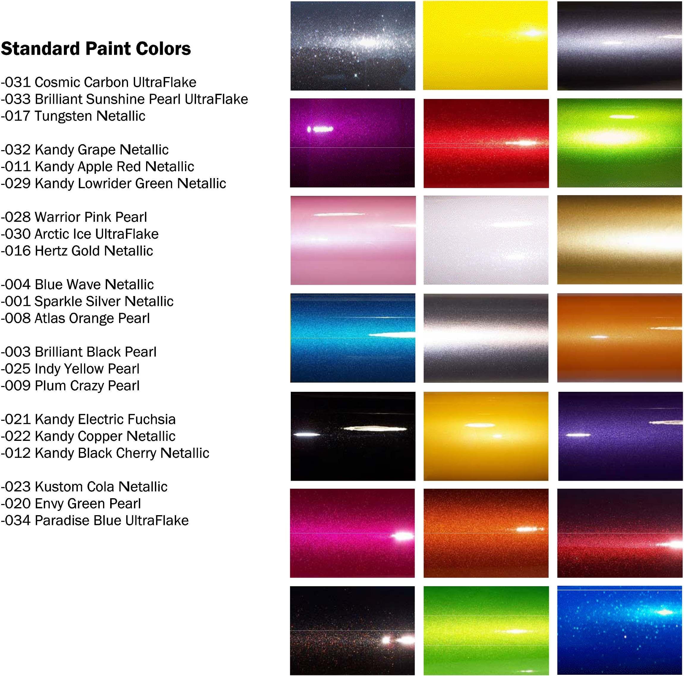 Green Automotive Paint Color Chart   Novocom.top