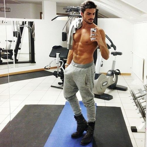 Image result for guy in gym weheartit