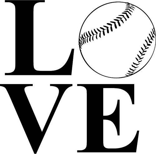 Download Love Baseball | The Craft Chop | SVG Files | Pinterest ...