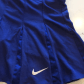 nike sz m dri fit tennis skirt tennis skirts royal