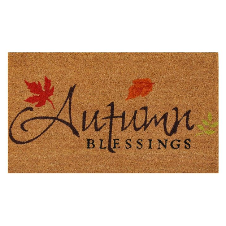 Home u More Autumn Blessings Outdoor Doormat Products