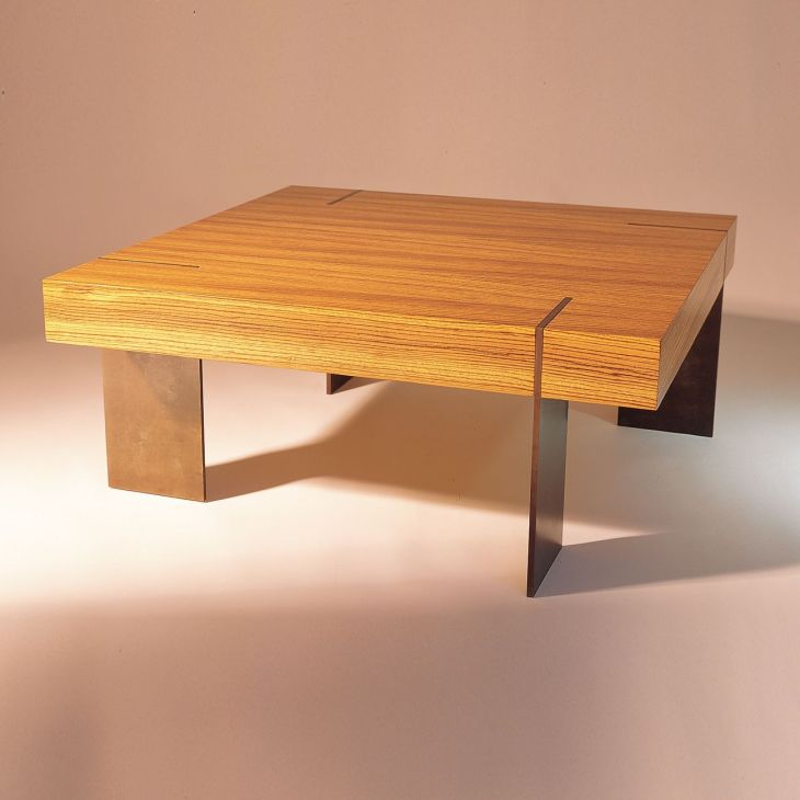 CT Coffee Table in Zebrawood Coffee Tables Pinterest