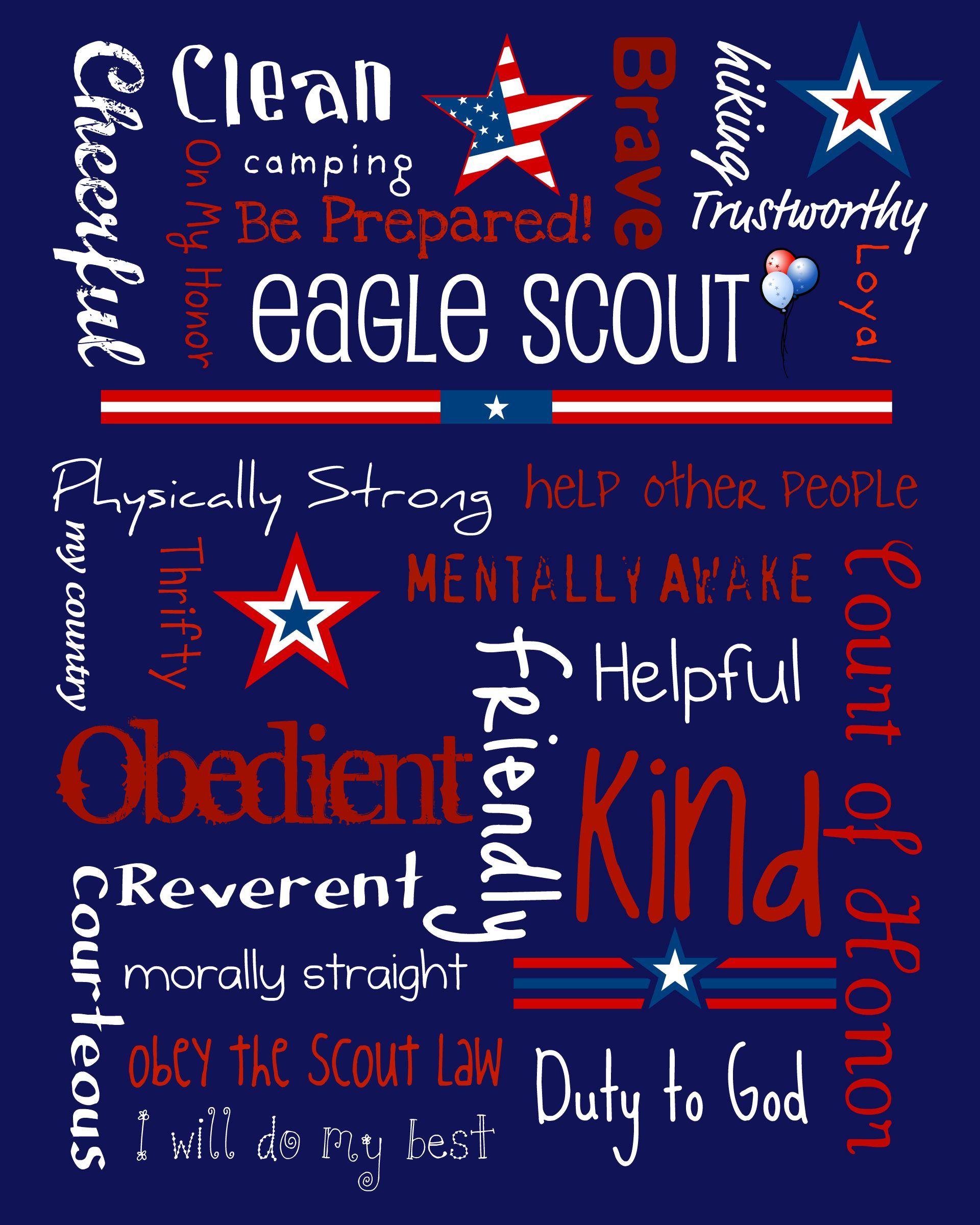 Eagle Scout Subway Art
