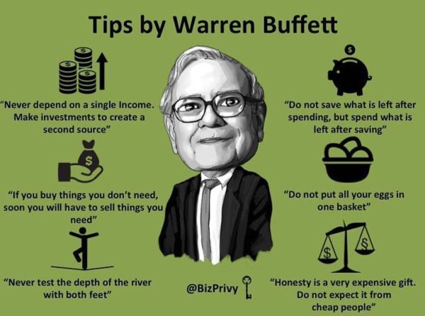 Tips by Warren Buffett | Quotes I Love | Pinterest ...