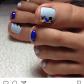 Pelikhideas Дизайн ногтей pinterest pedicures toe nail art