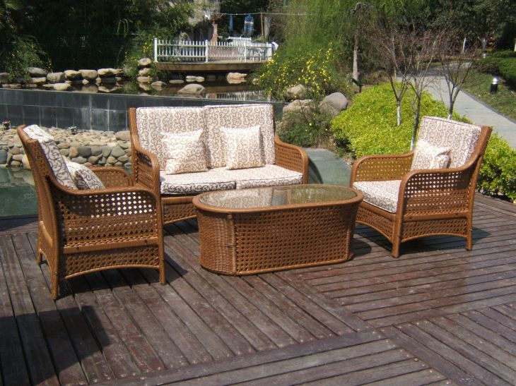 outdoor For the Home Pinterest Patios Wicker sofa and Sofa set