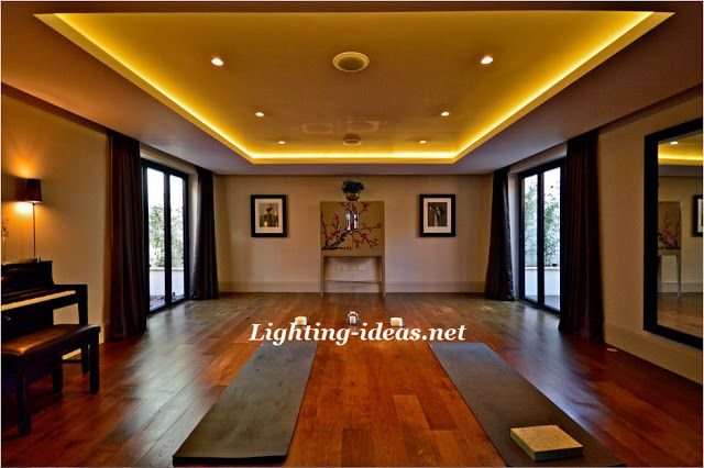 How To Install Led Strip Lights Innovative Salon With Ceiling Light Strips