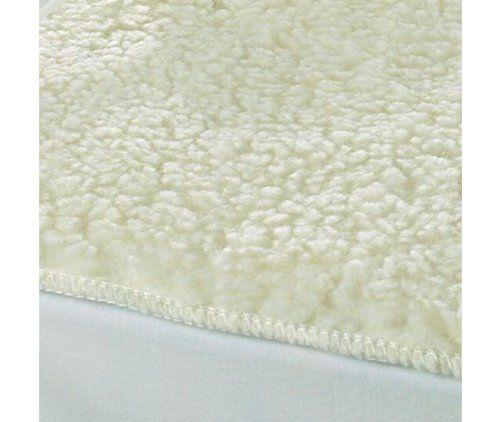 Luxury Single Size Fleecy Fleece Under Blanket Simulated Sheepskin Thermal Mattress Protector