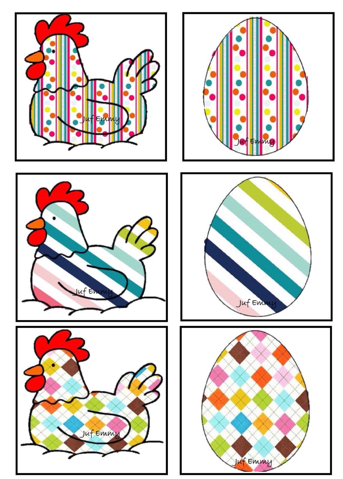 Juf Emmy Memory De Kip En Het Ei Deel 3