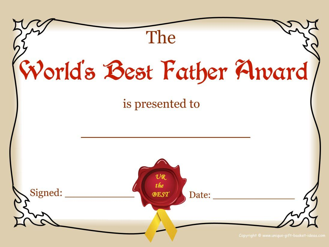 Worlds Greatest Mom And Dad Awards