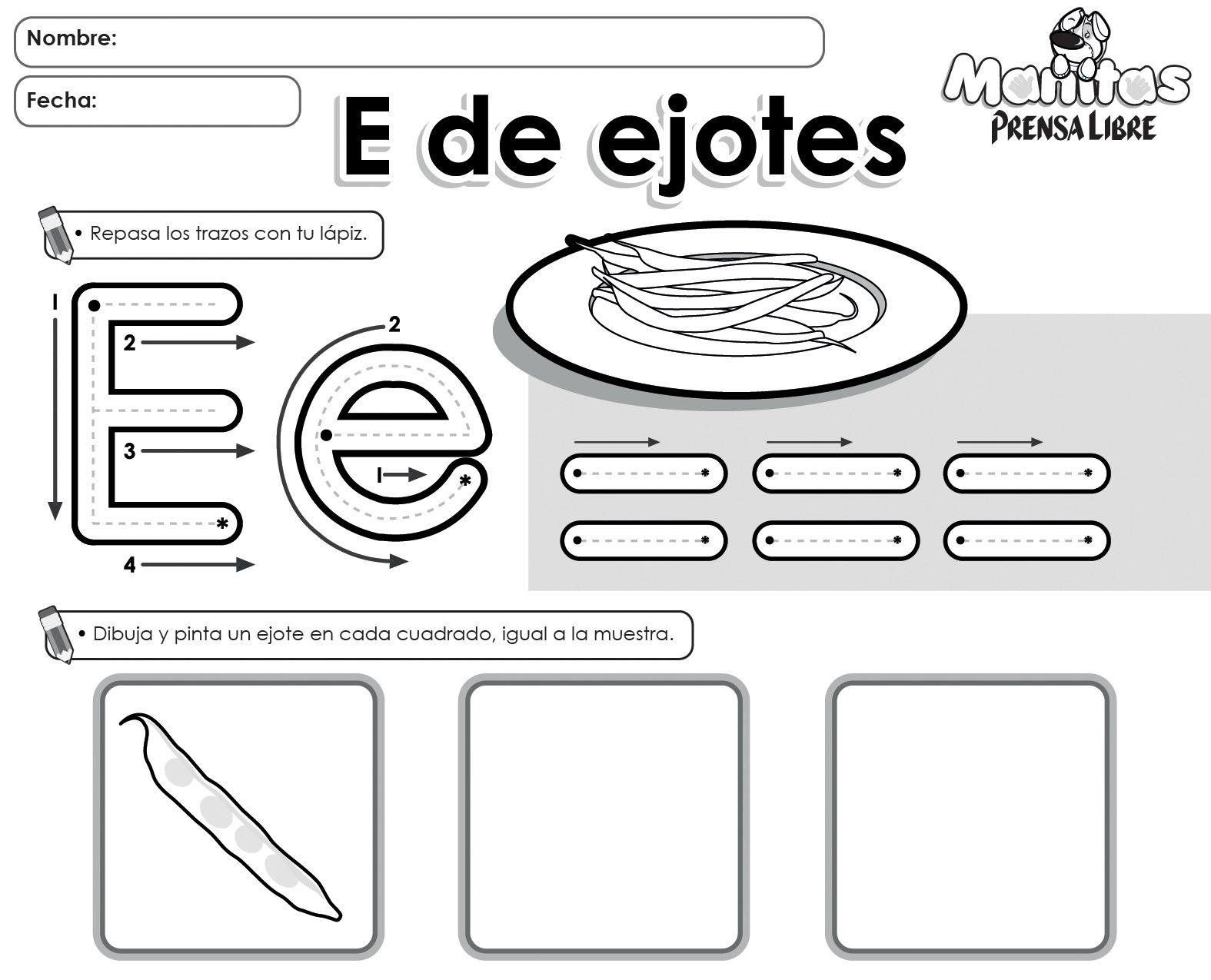 Handwriting Worksheet For Preschool Recycle