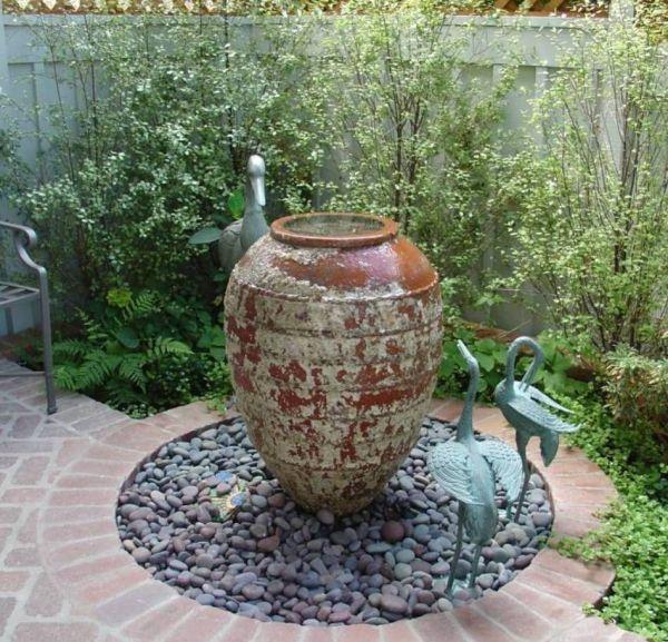 small water garden fountain ideas Garden And Lawn , Outside Water Feature Small Garden Ideas