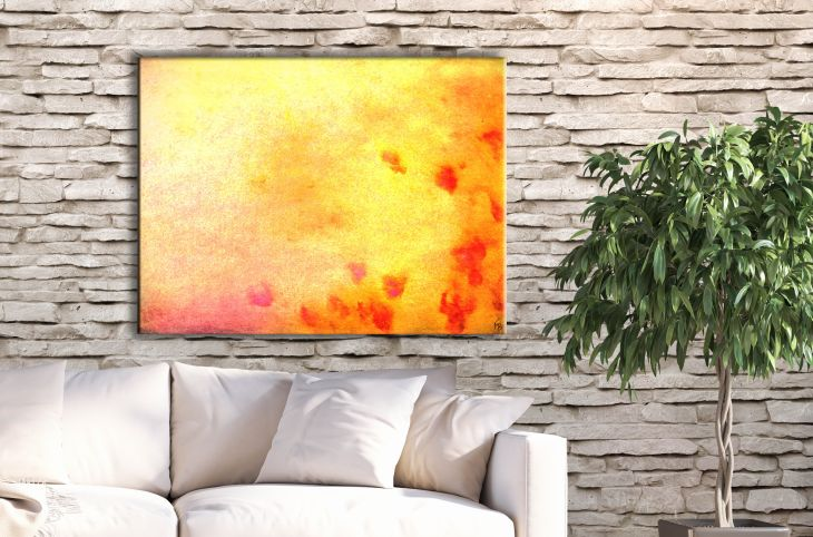 A burst of bright energy and fun for your kitchen Modern wall