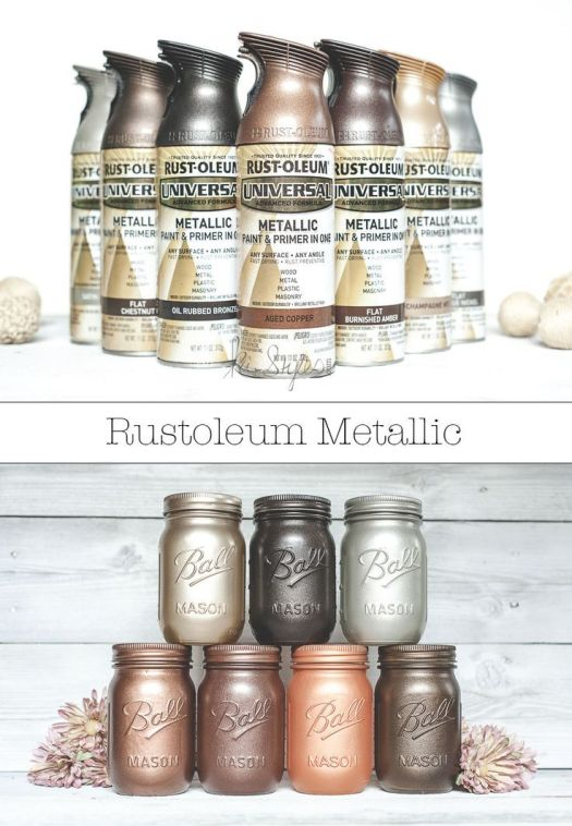 Rustoleum Metallic Spray Paint Colors