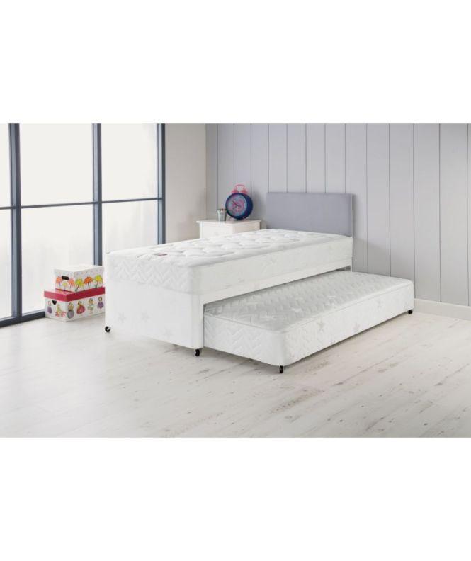 Airsprung Elliott Deluxe Single Divan Bed With Trundle At Argos Co Uk