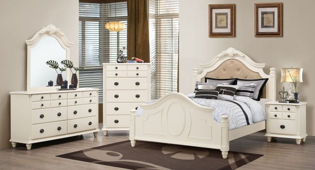 G5990 Youth Upholstered Bedroom Set Glory Furniture