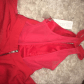Nwt cherry red formal gown short cocktail dress beautiful never