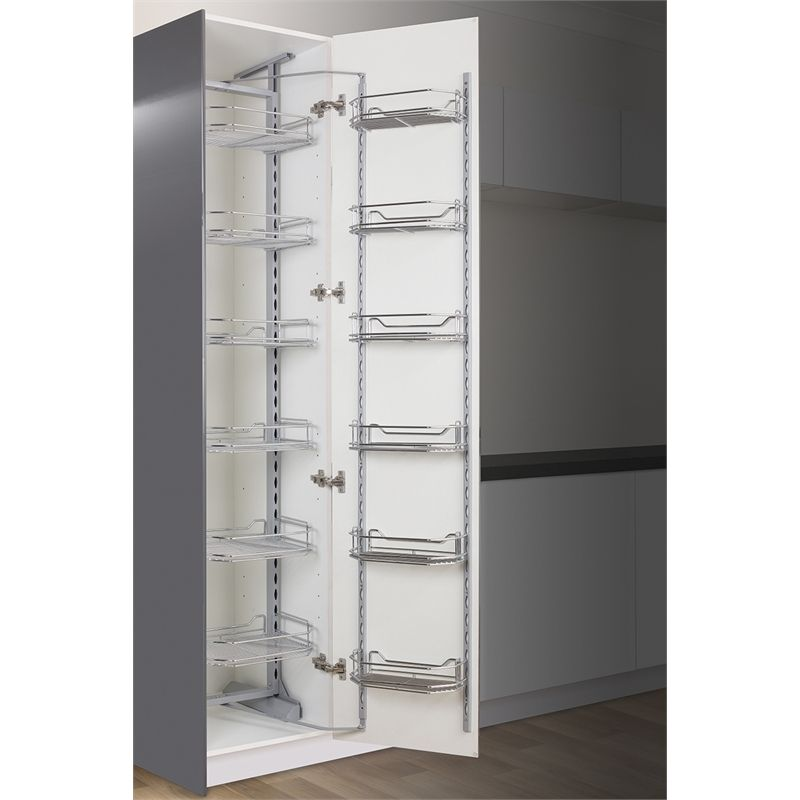 kaboodle 450mm 6 tier pantry pullout baskets kitchen update pinterest pantry kitchens and on kaboodle kitchen bunnings drawers id=59102