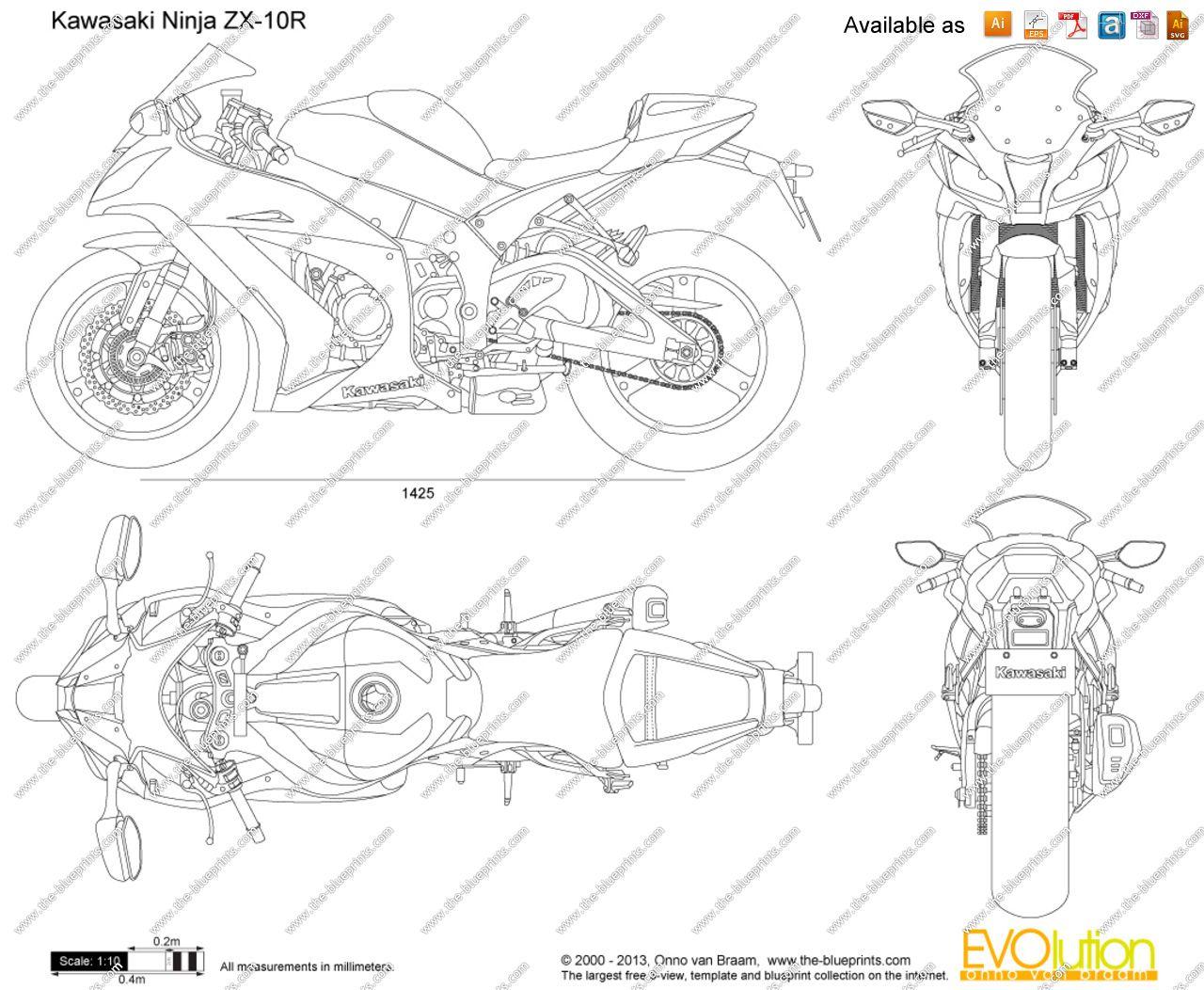 Kawasaki ninja zx 10r 1280×1052