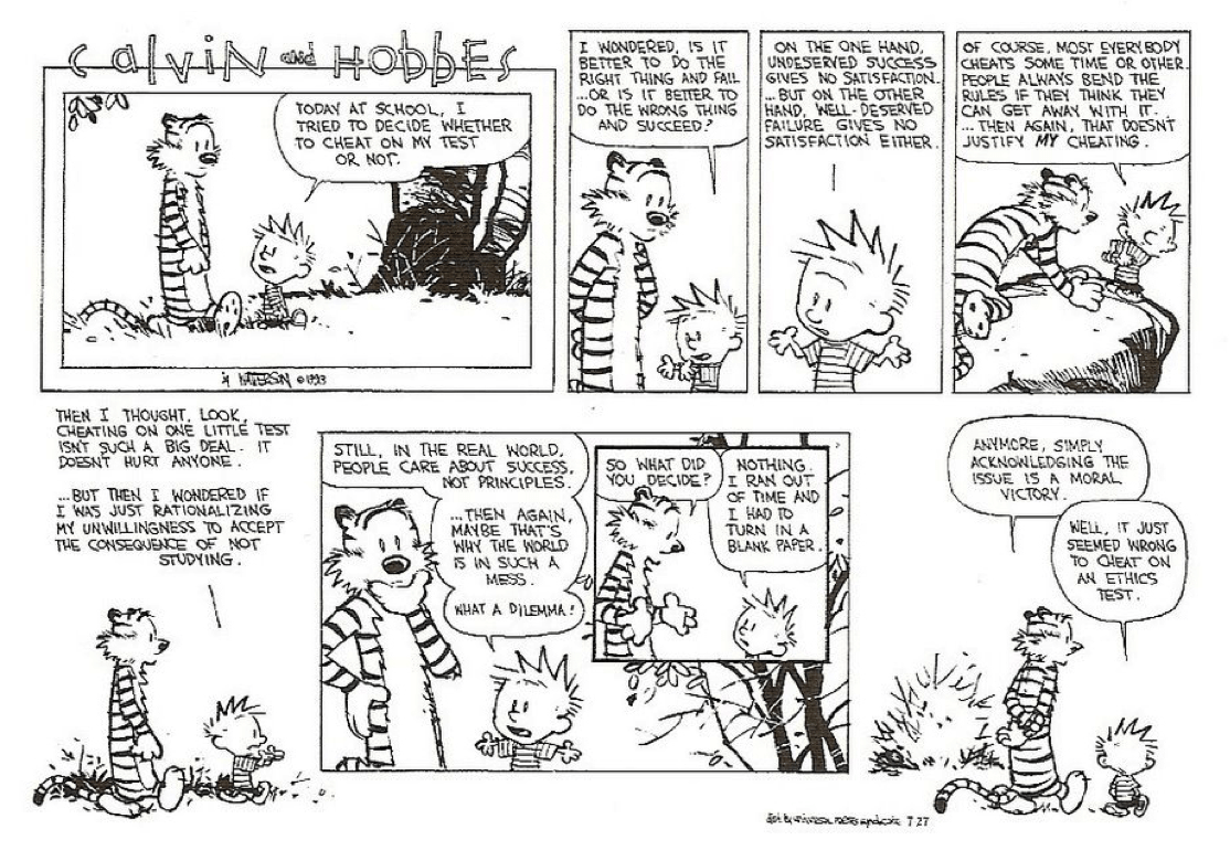 Calvin And Hobbes Dick And Jane