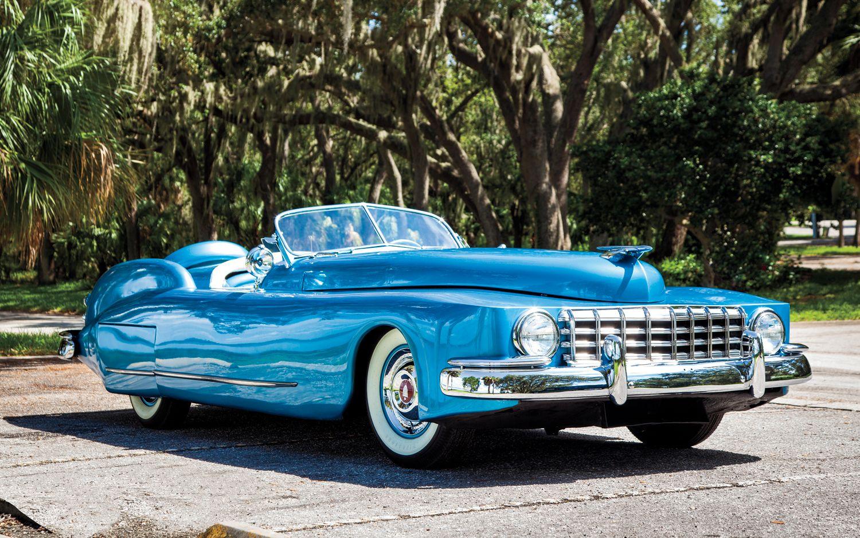 Rare Classic 1950s Cars 1950 Templeton Saturn Front