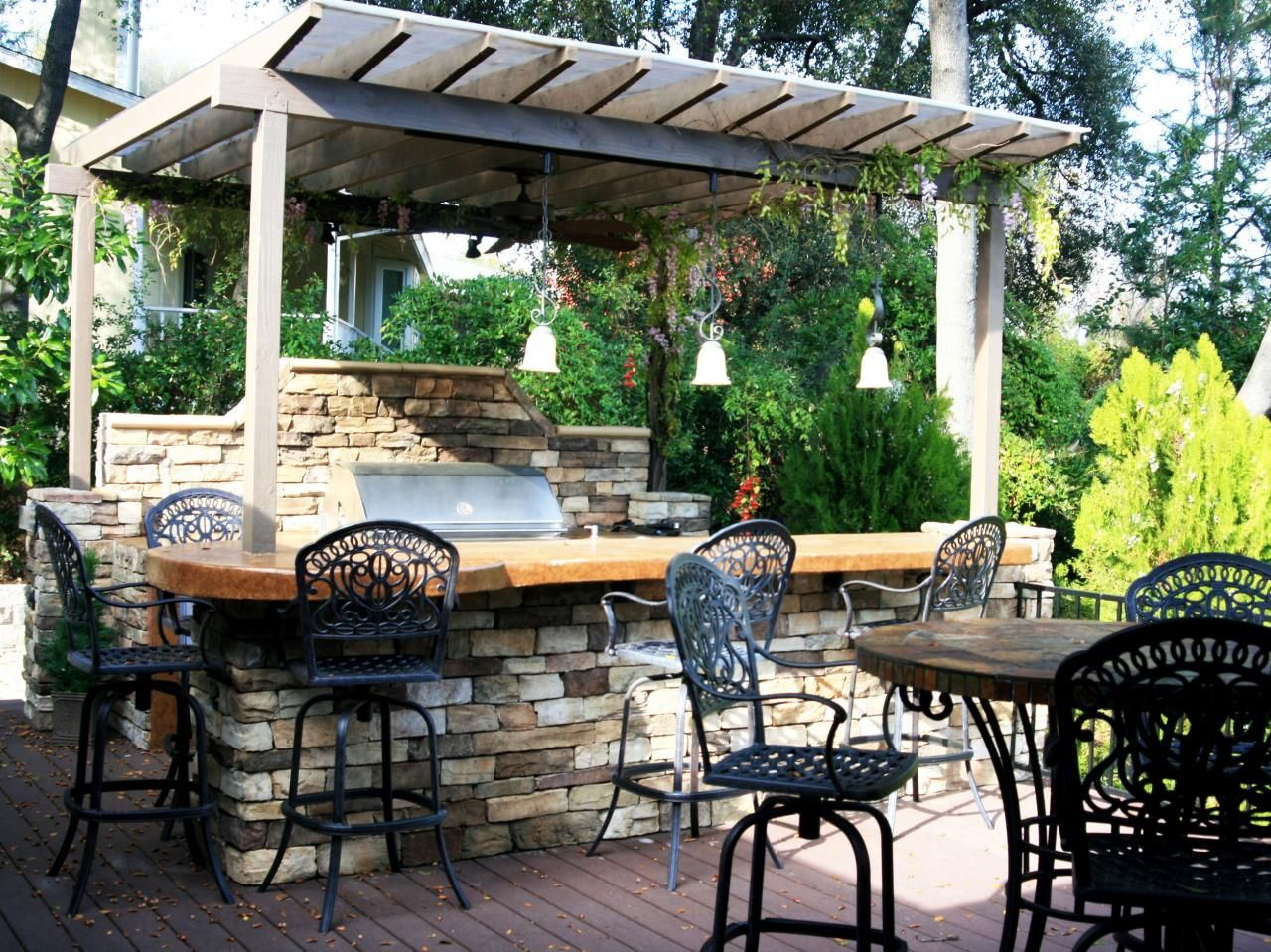outdoor kitchen ideas on a budget pictures tips ideas decks backyards and pictures on outdoor kitchen ideas on a budget id=95736