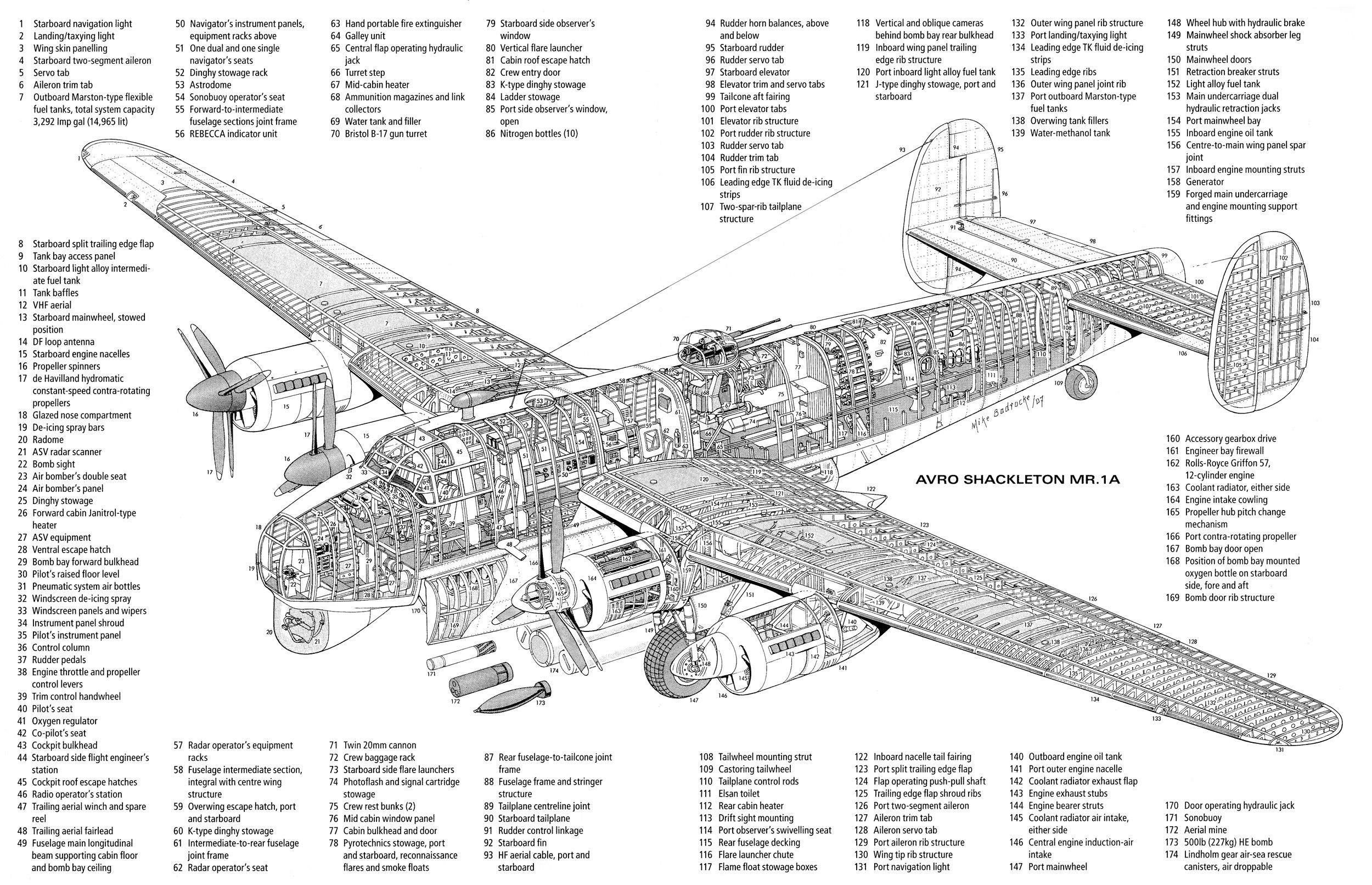 De Havilland Cutaway And Mosquitoes