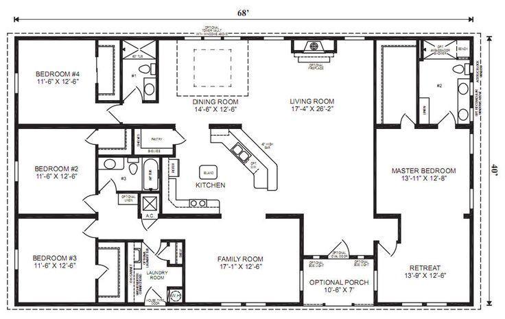 5e290534080763d5fd7e5ecf896186fe resize 665 2C420 ssl 1 5 bedroom modular homes  bedroom style ideas. 5 Bedroom Mobile Homes   Rickevans Homes
