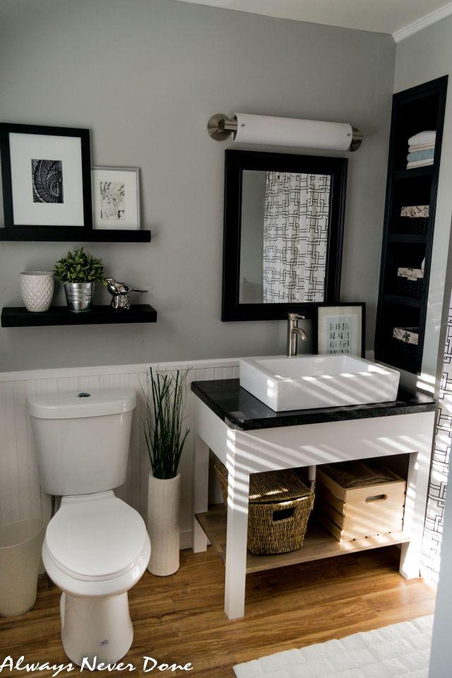 Master Bathroom Renovation the DIY and Thrifty way