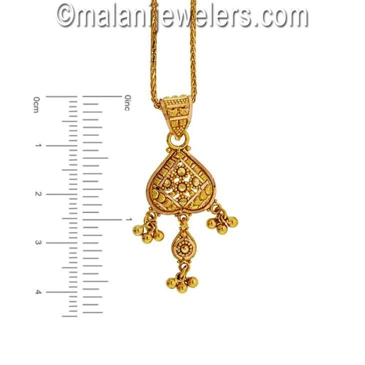 Karat Gold Desirable Pendant Set Zevar Pinterest Pendant