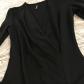 Luluus little black dress night out dress long sleeve mini dress