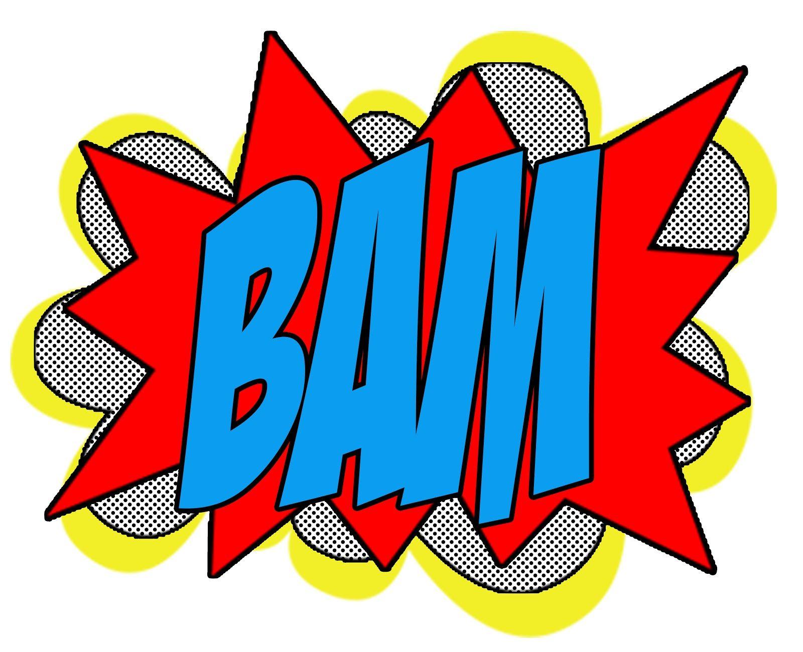 Superhero Bam Pow Signs Source Galleryhip Com Pow