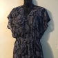 Mossimo black white long sheer dress cover up xlp this is a gorgeous
