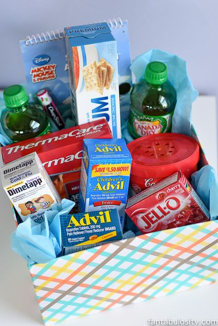 TLC Kit Get Well Gift Sick Ads And Gift