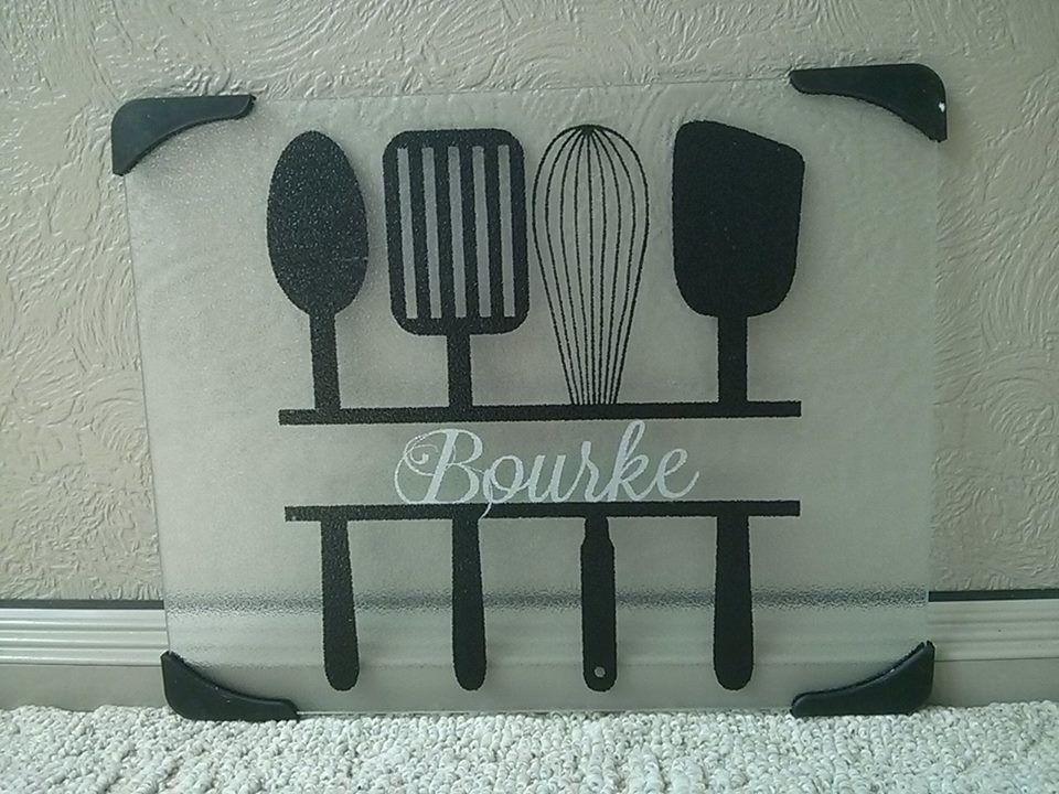 Cricut cutting board silhouette pinterest cricut