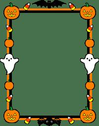 preschool halloween border