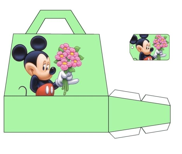 Large Mickey Bag Print   C B Mickey Mouse Partiesparty