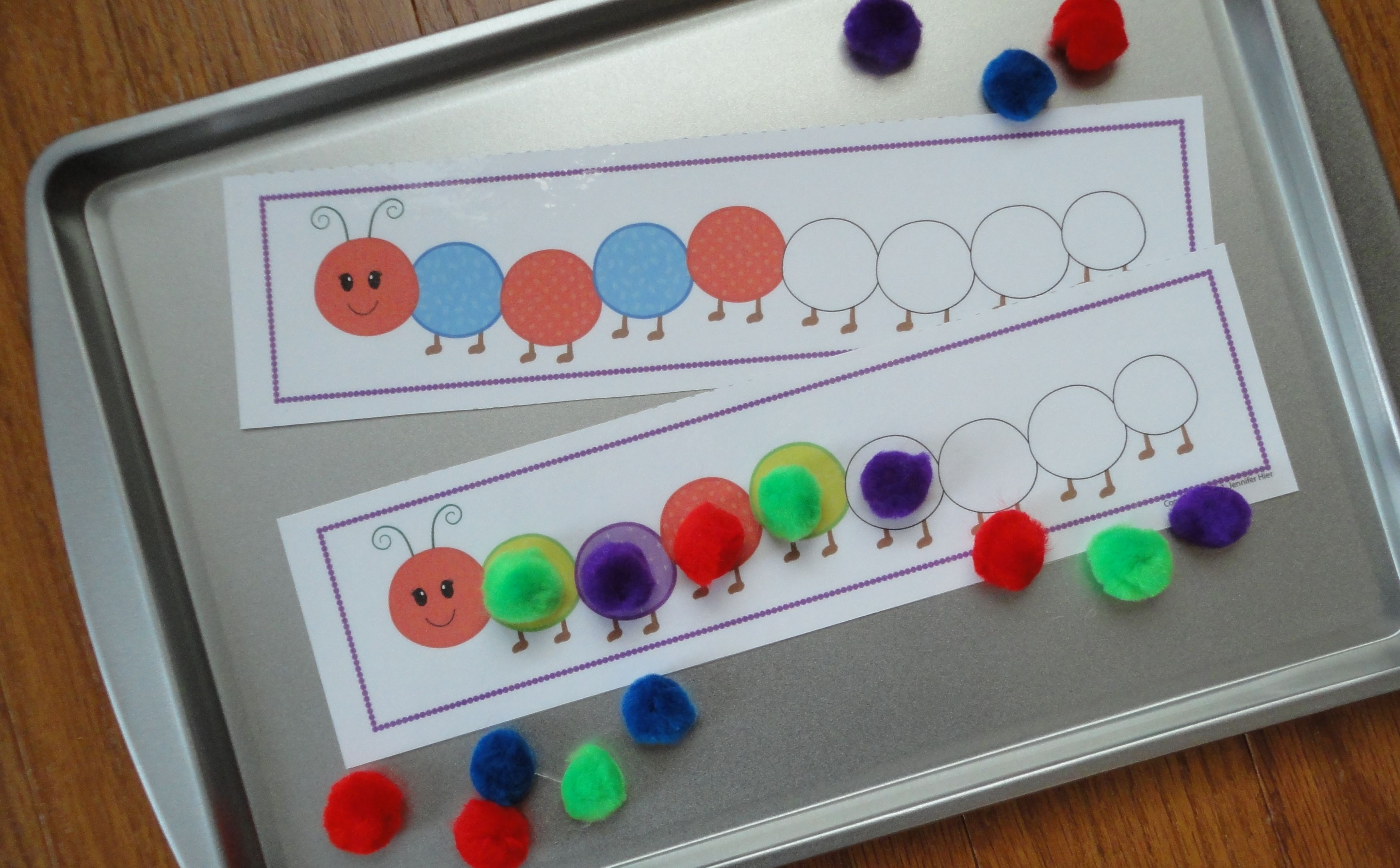 Caterpillar Pattern Activity