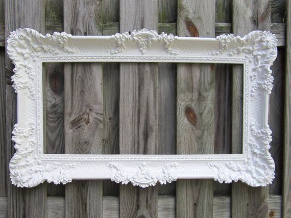 Magnificent Large Baroque Frame Motif - Custom Picture Frame Ideas ...