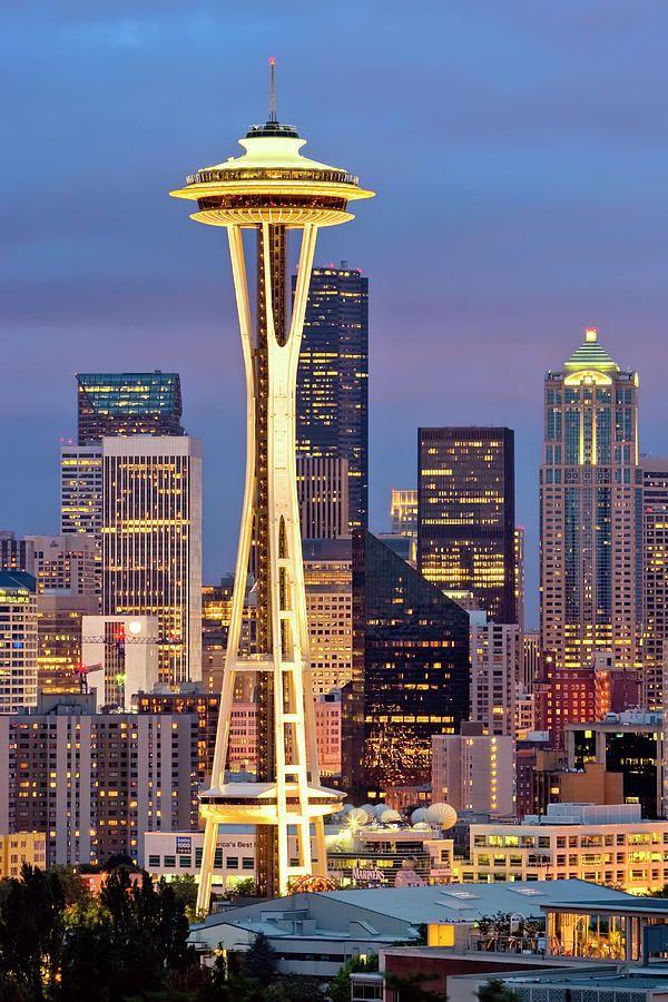 Seattle Space Needle   Seattle