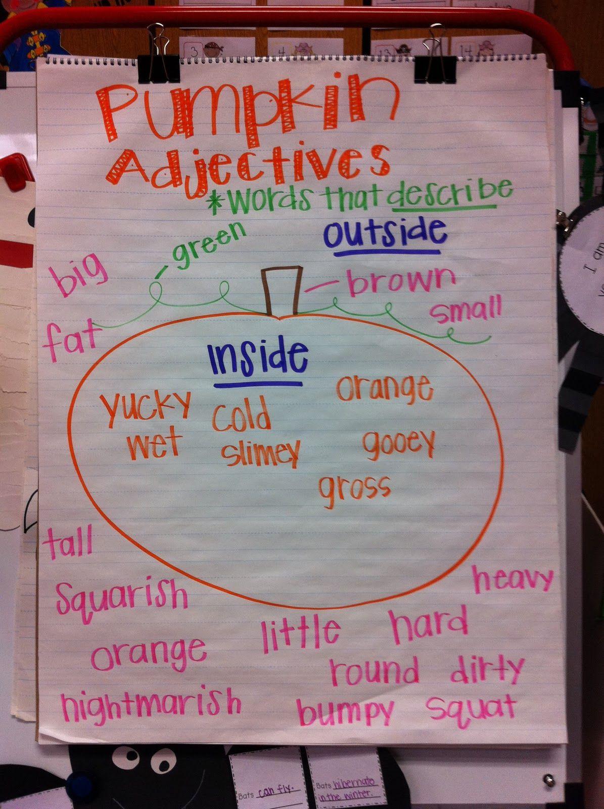 Pumpkin Math Worksheet For Pre Kindergarten