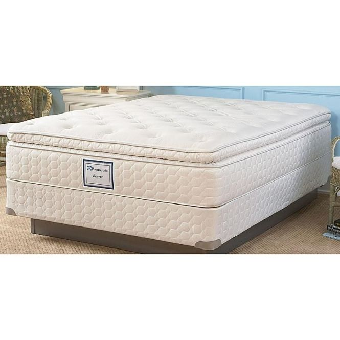 Sealy Posturepedic 50558951 Candle Glow Plush Euro Pillowtop Ii Queen Mattress Sears Outlet