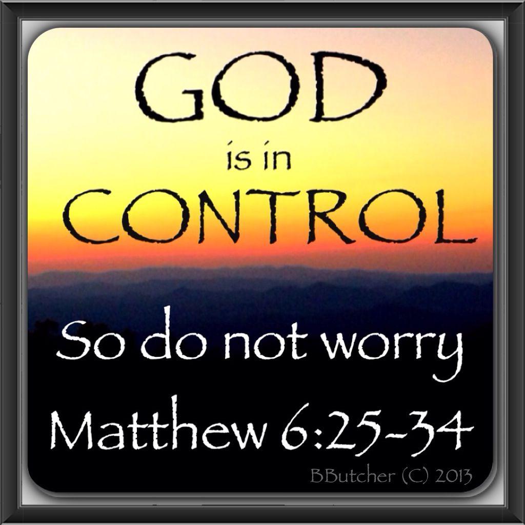 Matthew 6 25 34 Do Not Worry