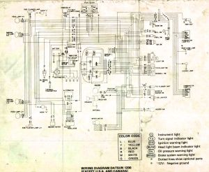 Wiring diagram for nissan 1400 bakkie #8 | nissan