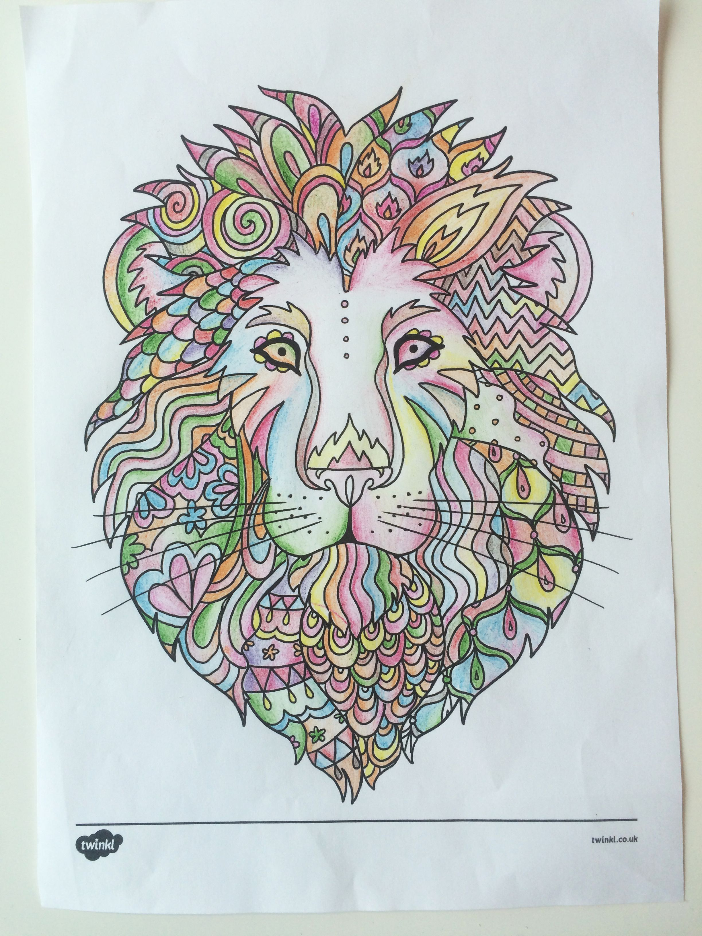 Gorgeous Mindfulness Colouring Sheets Great For Children