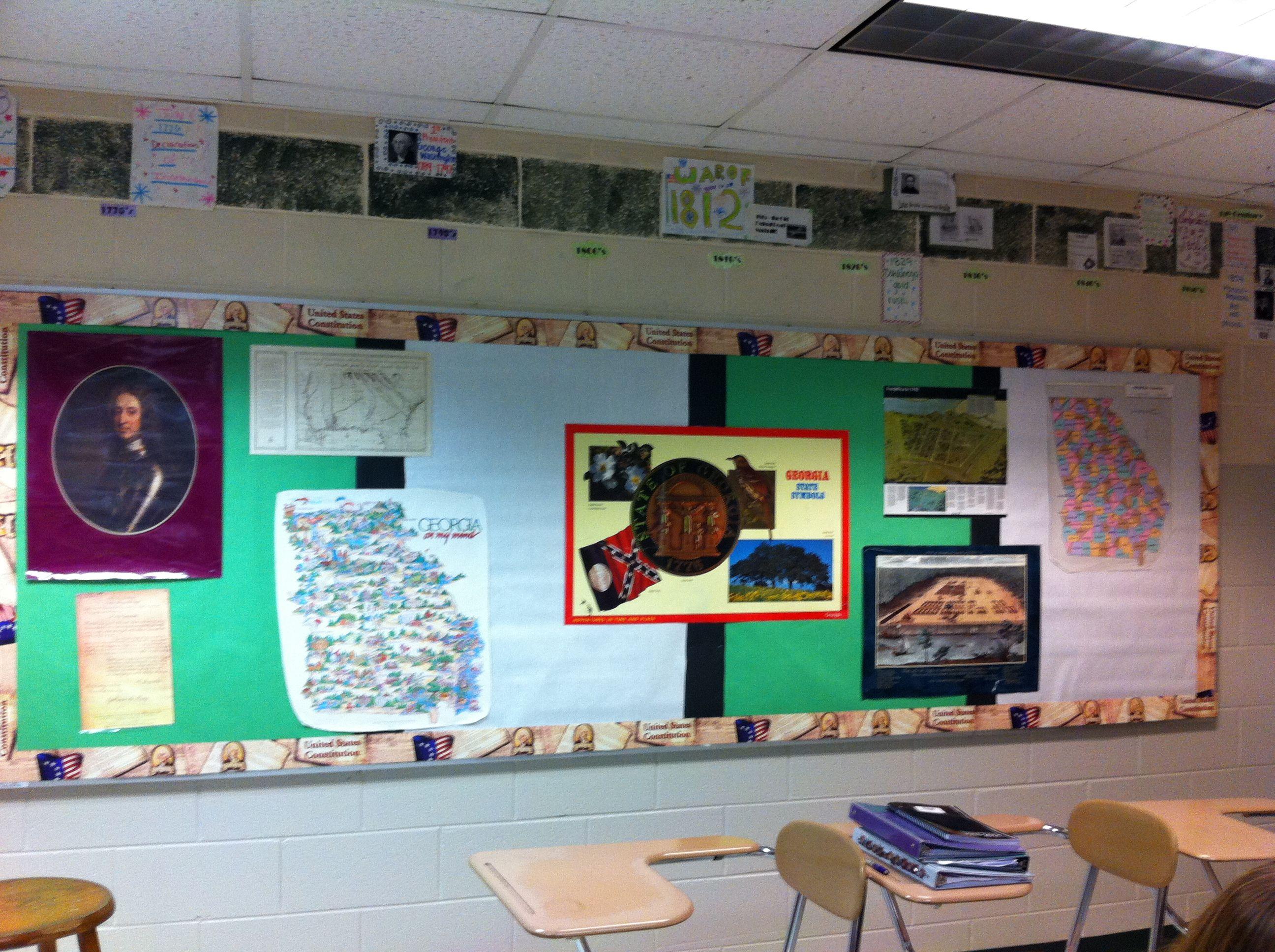 My First 8th Grade Georgia Stu S Bulletin Board I M