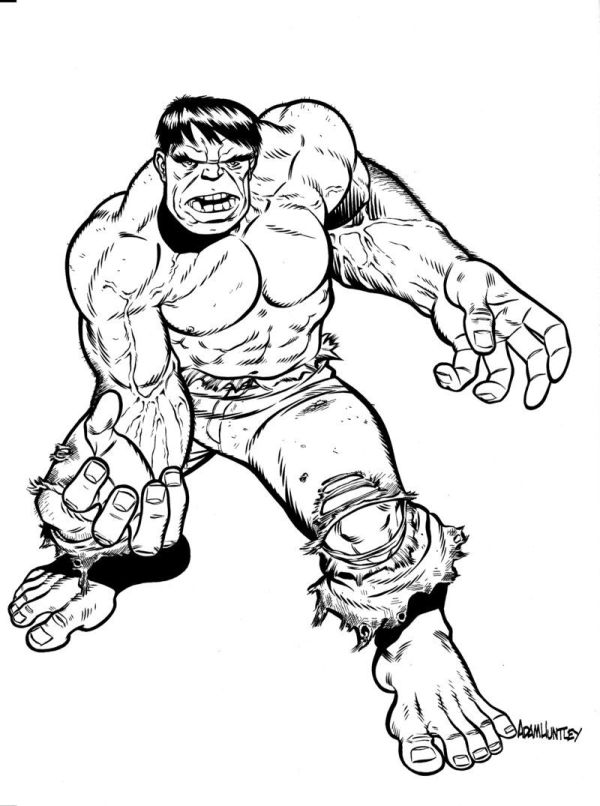hulk pictures to color | Free Printable Hulk Coloring ...