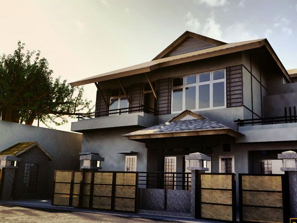 Chocolate Brown Exterior House Color