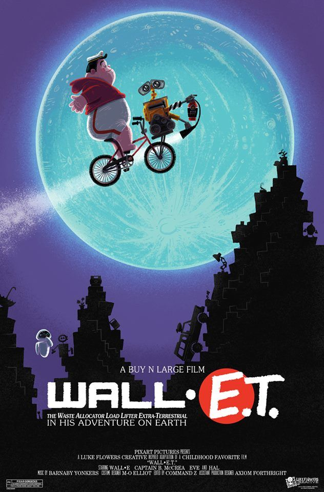 wall e t movie poster diy e t pinterest posts on wall e id=92409